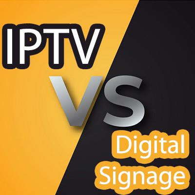 معرفی ساده و اجمالی دو سیستم IPTV و Digital Signage و بیان تفاوت عملکرد این دو سیستم